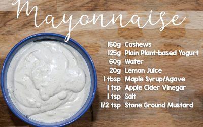 Easy Plant-Based Mayonnaise