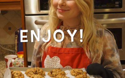 Oatmeal Cookies with Stephanie