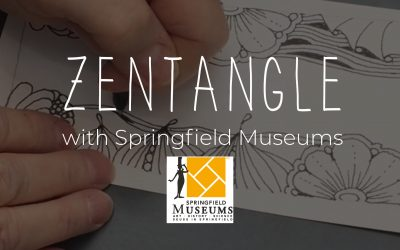 Zentangle with Springfield Museum